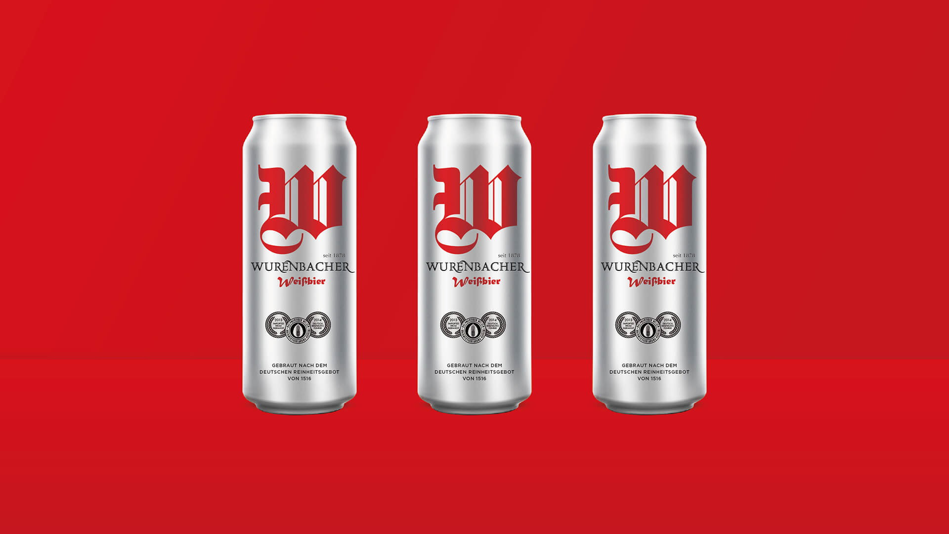 wurenbacher啤酒包装设计
