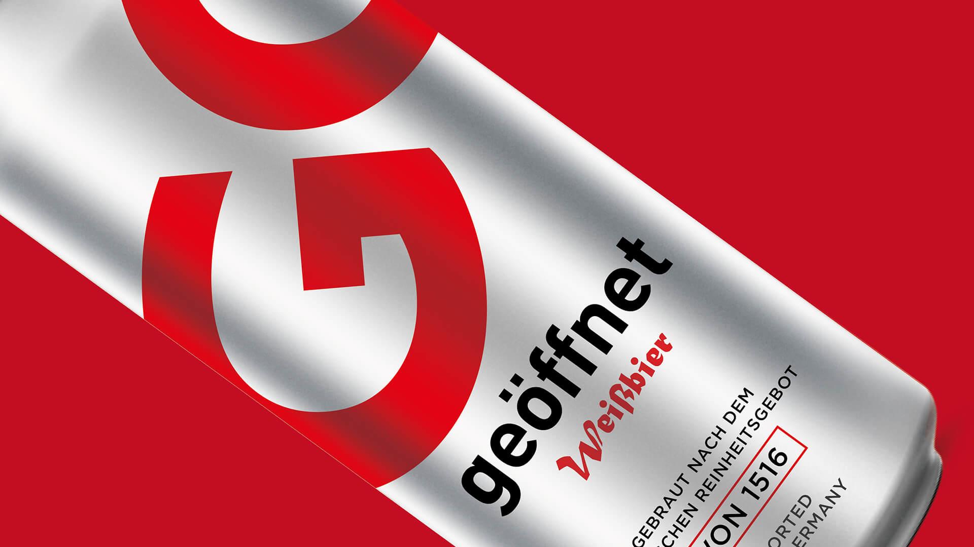 GO geöffnet啤酒包装设计