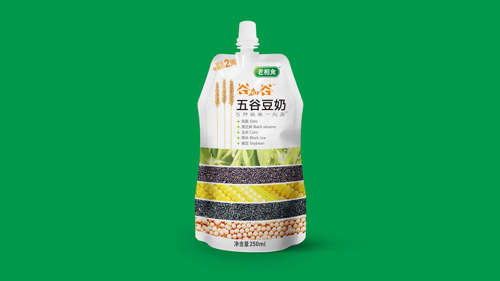 金记豆浆包装设计